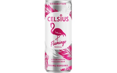 Celsius Flamingo tropical 0,355l
