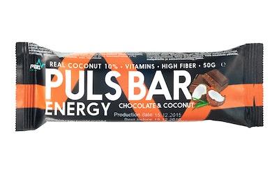 Puls Energy patukka 50g suklaa-kookos gl