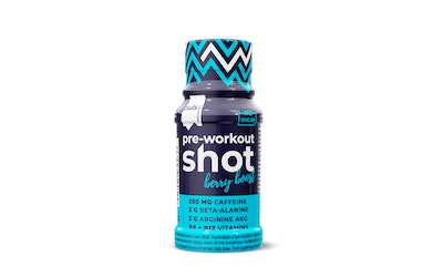 Puls Pre-Workout Shot urheilujuoma 60ml berryboost