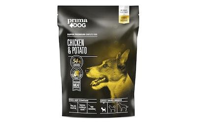 Prima Dog täysravinto pienille aikuisille koirille 1,5kg kana ja peruna