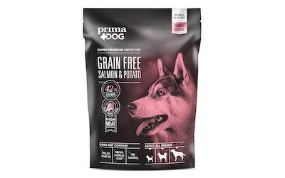 Prima Dog täysravinto aikuisille koirille 1,5kg lohi ja peruna, viljaton