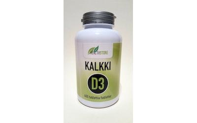 Health Store Kalkki+D3 400mg+20µg 400 tablettia