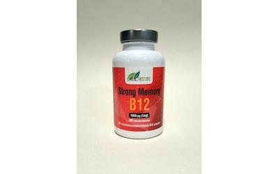 Health Store Strong memory B12 200tablettia