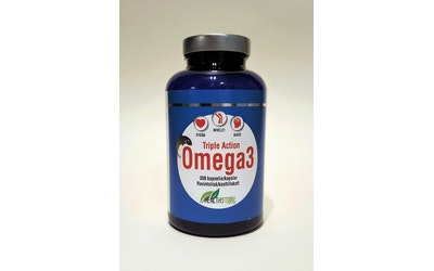 Health Store Triple Action Omega 3 300kapselia