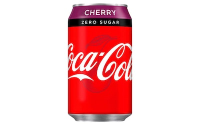 Coca-Cola Zero Cherry 330ml