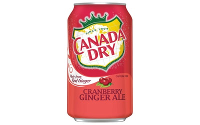 Canada Dry Cranberry ginger ale 0,33l