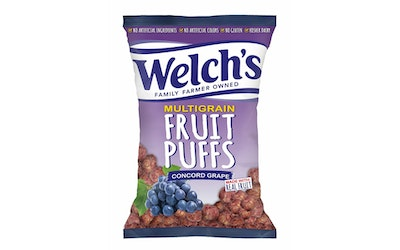 Welch's Concord Grape Puffs 170g