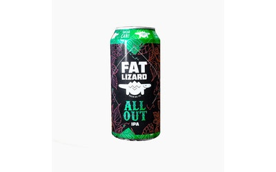 Fat Lizard All Out IPA 5,5% 0,44l