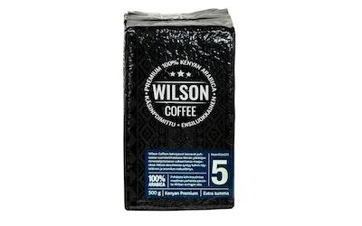 Wilson Coffee 500g SJ 100% Kenian arabica Extra tumma
