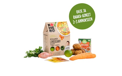 KomeroFood limelinssicurry 1055g