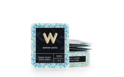 Warrior Coffee Vanilla pikavoikahvi 6 x 15g