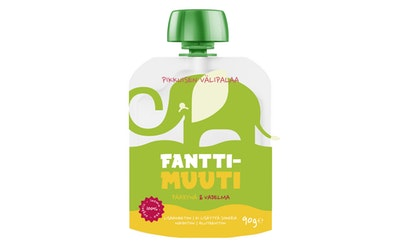 FanttiMuuti smoothie 90g alkaen12kk päärynä vadelma  luomu