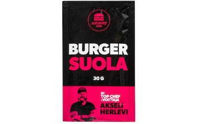 Naughty BRGR 30g Burger suola - kuva