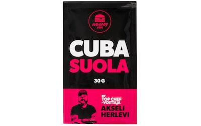 Naughty BRGR 30 g Cuba suola - kuva
