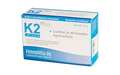 Fennovita K2 Plus 200 µg 40g 100tabl