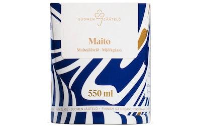 Suomen jäätelö maitojäätelö 550 ml