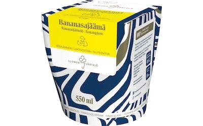 Suomen jäätelö Bananasajäämä 550ml
