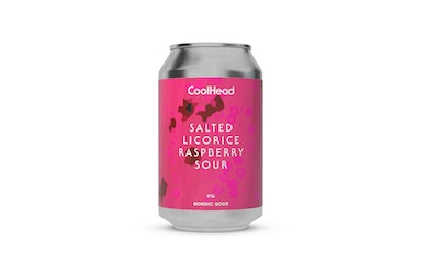 CoolHead Salted Licorice Sour 5% 0,33l