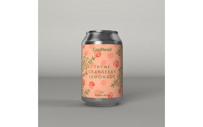 CoolHead Thyme Cranberry Lemonade Nordic Sour 5,0% 0,33l