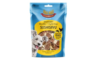 Hau-Hau Champion täyslihaherkut 100 g sushisiivu
