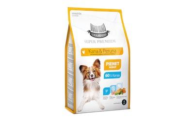 Hau-Hau Champion täysravinto pienille aikuisille koirille 4kg kana ja peruna