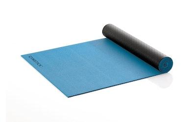 Gymstick Active 2-puoleinen treenimatto, sini-musta