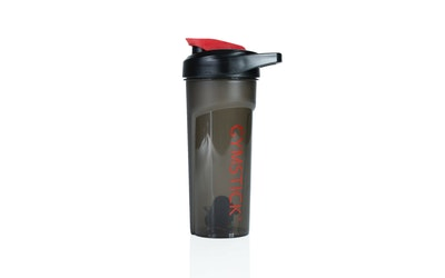 Gymstick Shaker-pullo 600ML - musta