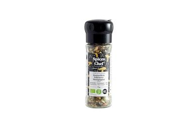 Spices Chefin Luomu kantarellit-Tellicherry-mustapippuri-suola 75g YM Reilu kauppa