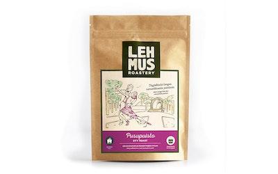 Lehmus Roastery Pusupuisto 220g jauhettu keskitumma kahvi