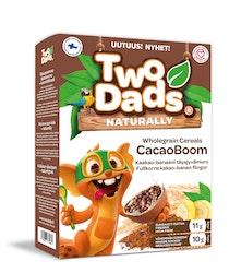 TwoDads CacaoBoom Kaakao banaani täysjyvämuro 250g
