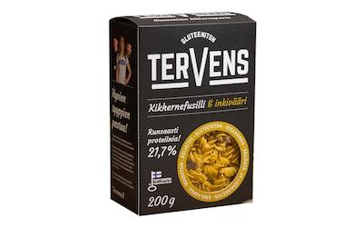 Tervens Kikhernefusilli & inkivääri 200g