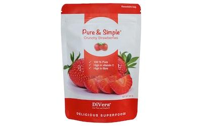 DiVera Crunchy Strawberries 30g