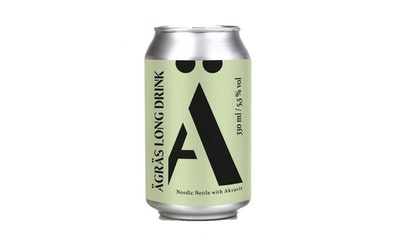 Ägräs long drink nordic nettle with akvavit 5,5% 0,33l