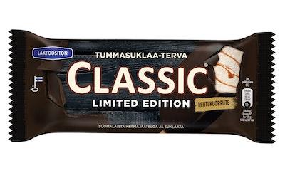 Classic 68g/0.9dl Tummasuklaa-Terva laktoositon kermajäätelöpuikko