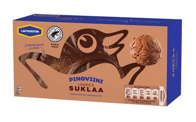 Pingviini jäätelö 1l suklaa laktoositon pa