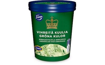 Fazer Vihreitä kuulia jäätelö 350g/480ml laktoositon