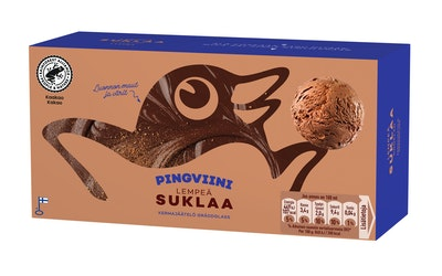 Pingviini jäätelö 1l suklaa