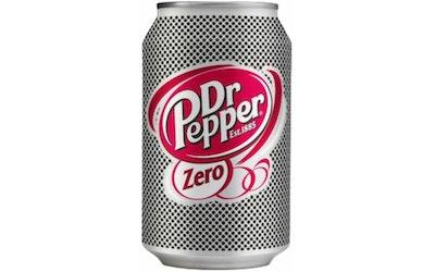 Dr Pepper Zero 0,33l