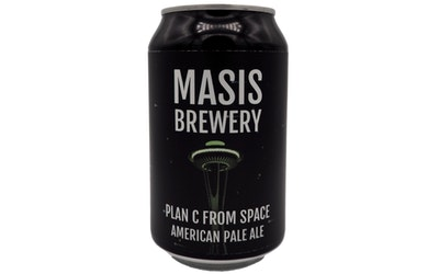 Masis Brewery Plan C from Space American Pale Ale 5,2% 0,33l