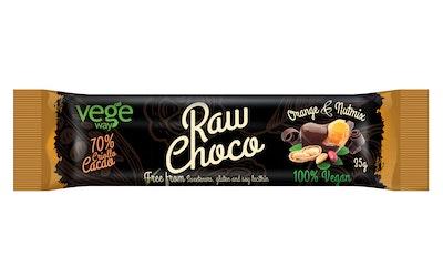 Vegeway raw choco appelsiini-pähkinä 35g