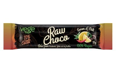 Vegeway raw choco sitruuna-chili 35g
