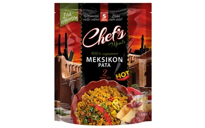 Chef's Meksikon pata ateria-aines 170g