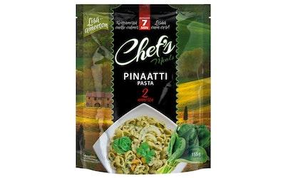 Chef's Pinaattipasta ateria-aines 155g