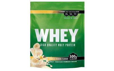 Leader Whey heraprot 500g vanilja-banaani