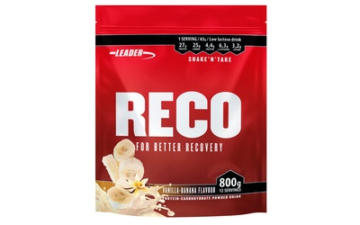 Leader Reco 800g vanilja-banaani