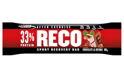 Leader Reco bar 60g chocolate