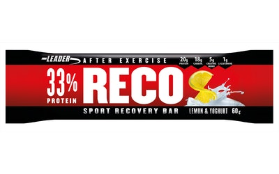 Leader Reco bar 60g lemon yoghurt