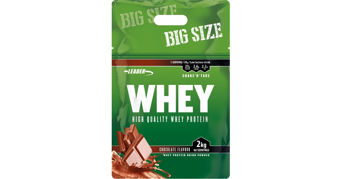leader whey protein 2kg