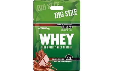 Leader Whey Protein+ suklaanmakuinen proteiinijauhe 2 kg