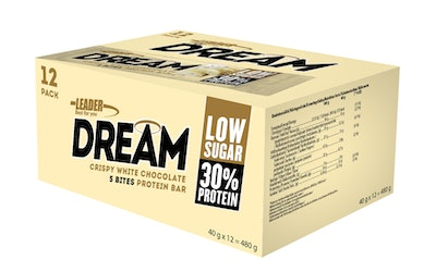 Protein Dream White choco bar 40g-12pack